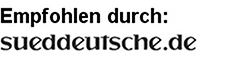 Empfohlen von der Süddeutschen Zeitung